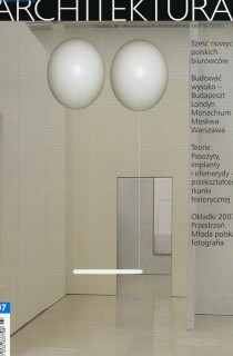 ARCHITEKTURA – 2007