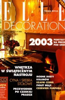ELLE DECORATION – 2003